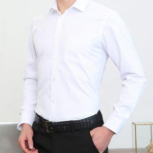 B302訂造高級男女襯衫純棉免燙保安工作服