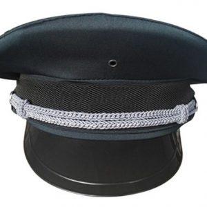 B313 保安高檔灰色帽, 有織有圍邊