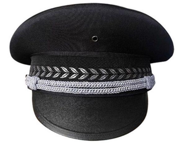 B314 保安黑色大蓋帽,時尚好睇