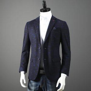 B350保安男西裝褸布料TR斜紋布