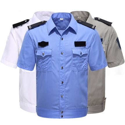 B380短袖恤衫肩帶前胸袋加袋蓋布料的確涼布料